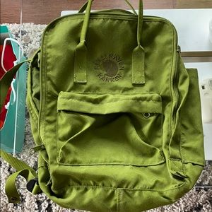 Fjallraven Re-Kanken Backpack - Spring Green
